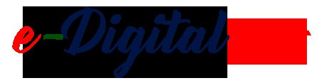 E Digital Hindi Main Logo