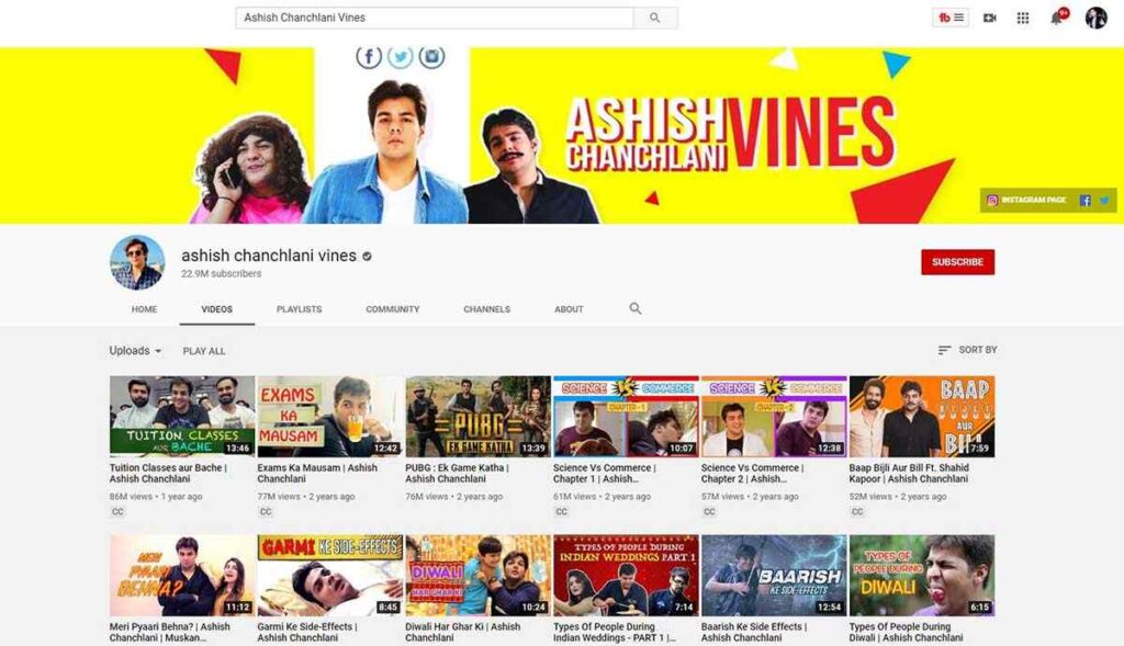 famous youtubers in india