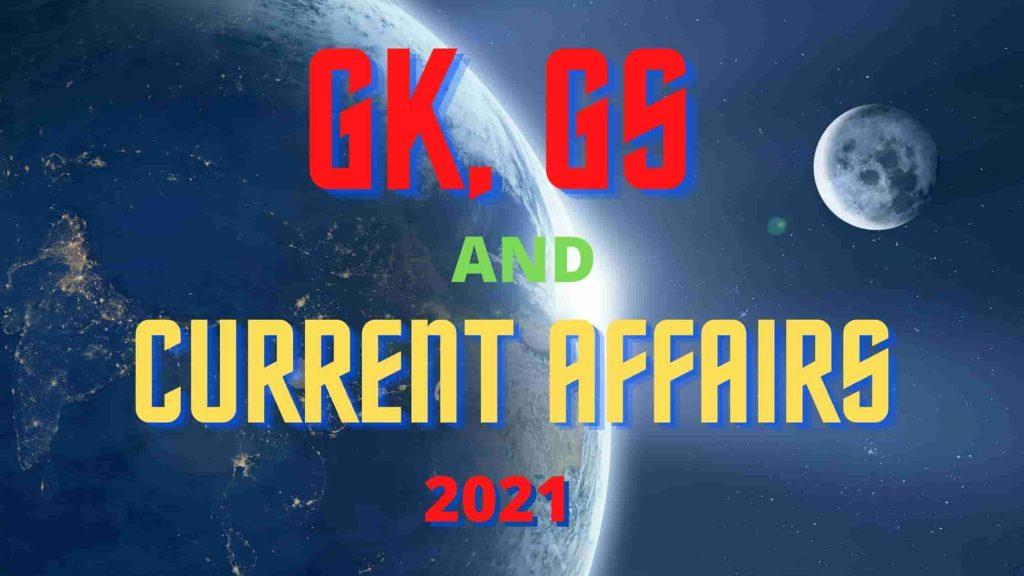 GK ,GS & CURRENT AFFEIRS